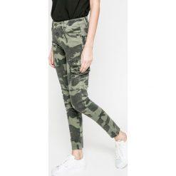 Answear - Jeansy. Szare jeansy damskie rurki marki ANSWEAR, l, z poliesteru, z długim rękawem, długie. W wyprzedaży za 99,90 zł.