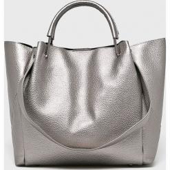 Parfois - Torebka. Szare torebki klasyczne damskie Parfois, z materiału, duże. W wyprzedaży za 99,90 zł.