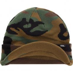 Czapka VANS - Visor Cuff VN0A3HJ897I Classic Camo. Zielone czapki męskie marki Vans, z elastanu. Za 99,00 zł.