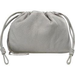 Topshop DRAWSTRING Torba na zakupy grey. Szare torebki klasyczne damskie Topshop. W wyprzedaży za 159,50 zł.