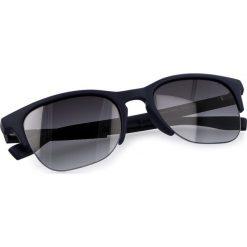 Okulary przeciwsłoneczne BOSS - 0290/S Blue PJP. Niebieskie okulary przeciwsłoneczne damskie lenonki marki Boss, z tworzywa sztucznego. W wyprzedaży za 389,00 zł.