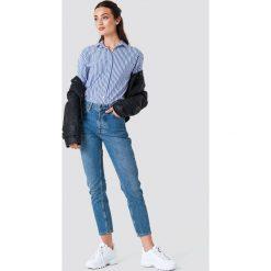 Boyfriendy damskie: Rut&Circle Jeansy z wysokim stanem Louisa - Blue