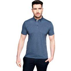 Koszulki polo: koszulka polo becker granatowy