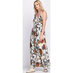 Sukienki: Kremowa Sukienka Blizzard