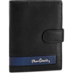 Duży Portfel Męski PIERRE CARDIN - TILAK26 331A Black/Blue. Czarne portfele męskie marki Pierre Cardin, ze skóry. Za 125,00 zł.
