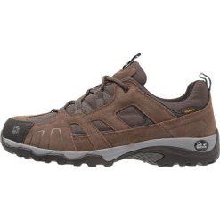 Jack Wolfskin VOJO HIKE TEXAPORE MEN Obuwie hikingowe dark wood. Brązowe buty sportowe męskie Jack Wolfskin, z materiału, outdoorowe. Za 399,00 zł.