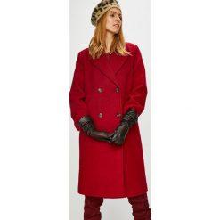 Pepe Jeans - Płaszcz Edurne. Czerwone płaszcze damskie wełniane marki Pepe Jeans, l, klasyczne. Za 849,90 zł.