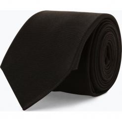 Mc Earl - Krawat jedwabny męski, czarny. Czarne krawaty męskie Mc Earl, z jedwabiu. Za 99,95 zł.