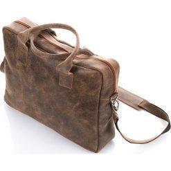 Jasnobrązowa Szykowna Skórzana torba PAOLO PERUZZI Satordi. Brązowe torby na ramię męskie marki Kazar, ze skóry, przez ramię, małe. Za 299,90 zł.