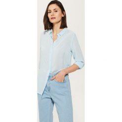 Gładka koszula - Niebieski. Niebieskie koszule męskie marki House, l. W wyprzedaży za 19,99 zł.