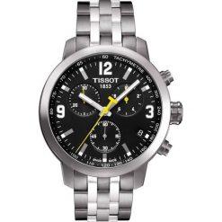 PROMOCJA ZEGAREK TISSOT T-SPORT T055.417.11.057.00. Czarne zegarki męskie TISSOT, ze stali. W wyprzedaży za 1804,00 zł.