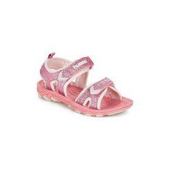 Sandały Dziecko  Hummel  SANDAL GLITTER JR. Czerwone sandały dziewczęce marki Hummel. Za 143,20 zł.