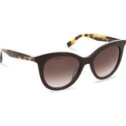 Okulary przeciwsłoneczne BOSS - 0310/S Brown Havana WR9. Brązowe okulary przeciwsłoneczne damskie aviatory Boss. W wyprzedaży za 399,00 zł.