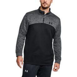 Bluzy męskie: Under Armour Bluza męska Armour Fleece 1/4 Zip czarno-szara r. XL (1286334-002)