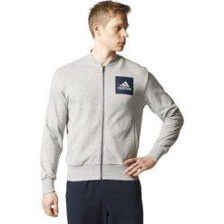 BLUZA ADIDAS ESSENTIALS BOMBER S98800. Szare bluzy męskie marki Adidas, m. Za 199,00 zł.