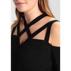 Bluzki asymetryczne: Anna Field Curvy CROSSED STRAP LONGSLEEVE Bluzka z długim rękawem black