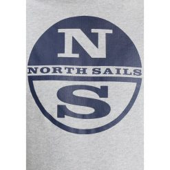 Bejsbolówki męskie: North Sails LOWELL HOODIE BOLLO Bluza z kapturem grey melange
