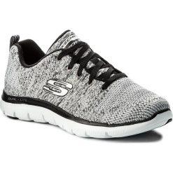 Buty SKECHERS - High Energy 12756/WBK White Black. Szare buty do fitnessu damskie marki KALENJI, z gumy. W wyprzedaży za 239,00 zł.