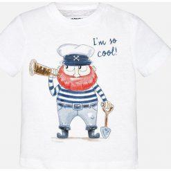 Mayoral - T-shirt dziecięcy 68-98 cm. Niebieskie t-shirty chłopięce z nadrukiem marki Reserved, l, z okrągłym kołnierzem. Za 49,90 zł.