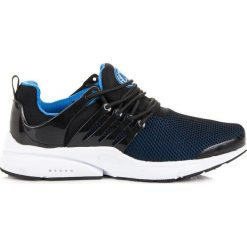 Buty skate męskie: Wiązane buty sportowe AX BOXING niebieskie