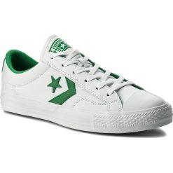 Trampki CONVERSE - Star Player Ox 159738C White/Green/White. Białe tenisówki męskie Converse, z gumy. W wyprzedaży za 249,00 zł.