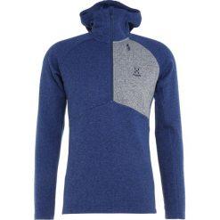 Swetry klasyczne męskie: Haglöfs NIMBLE HOODED MEN Sweter tarn blue
