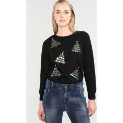 Bluzy rozpinane damskie: Vero Moda VMCHRISTMAS Bluza black