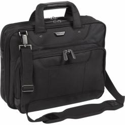 """Targus Corporate Traveller13-14"""" czarna. Czarne torby na laptopa Targus, z materiału. Za 319,00 zł."""