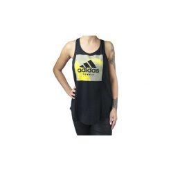 Topy na ramiączkach / T-shirty bez rękawów adidas  Category Tank W  CD9152. Czarne topy damskie Adidas, l. Za 79,99 zł.