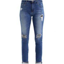 Boyfriendy damskie: AG Jeans MIDDI ANKLE VOKUHILA Jeansy Slim Fit blue denim