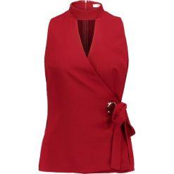 Bluzki asymetryczne: Glamorous Bluzka burgundy