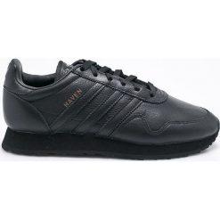 Adidas Originals - Buty Haven. Czarne buty skate męskie adidas Originals, z materiału, na sznurówki. W wyprzedaży za 479,90 zł.