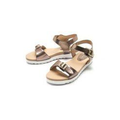 Sandały MTNG  SANDALIAS   MUJER 50248-C39320-GLASE PINK GOLD. Żółte sandały trekkingowe damskie marki mtng. Za 140,71 zł.