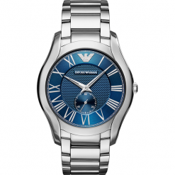 Zegarek EMPORIO ARMANI - Valente AR11085  Silver/Silver. Szare zegarki męskie marki Emporio Armani. Za 1059,00 zł.