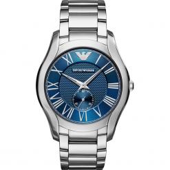 Zegarek EMPORIO ARMANI - Valente AR11085  Silver/Silver. Szare zegarki męskie Emporio Armani. Za 1249,00 zł.