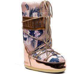 Śniegowce MOON BOOT - Tropical Mirror 14024600001 Copper/Cam Eo Rose. Czerwone buty zimowe damskie Moon Boot, z materiału. Za 849,00 zł.