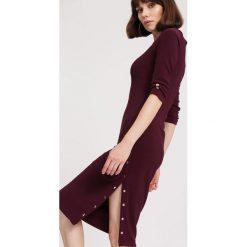 Sukienki: Ciemnofioletowa Sukienka I Don't Want You