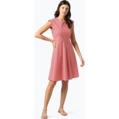 Marc O'Polo - Sukienka damska, czerwony. Czerwone sukienki rozkloszowane marki Marc O'Polo, z nadrukiem, polo. Za 439,95 zł.