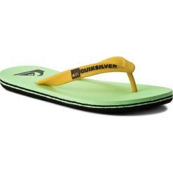 Japonki QUIKSILVER  - AQBL100277 Xkgw. Żółte crocsy damskie marki Quiksilver, z tworzywa sztucznego. Za 65,00 zł.