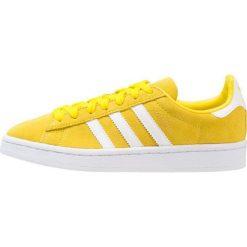 Adidas Originals CAMPUS Tenisówki i Trampki yellow/footwear white. Żółte tenisówki męskie marki adidas Originals, z materiału. Za 269,00 zł.