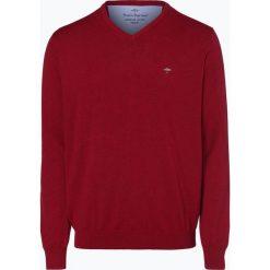 Fynch Hatton - Sweter męski, lila. Brązowe swetry klasyczne męskie Fynch-Hatton, l, z bawełny. Za 249,95 zł.