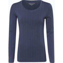 Marie Lund - Damska koszulka z długim rękawem, niebieski. Niebieskie t-shirty damskie Marie Lund, l, z bawełny. Za 89,95 zł.
