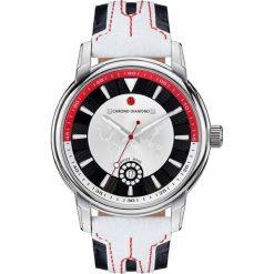 """Zegarki męskie: Zegarek kwarcowy """"Nereus"""" w kolorze biało-czarno-srebrnym"""