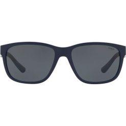 Polo Ralph Lauren - Okulary 0PH4142. Brązowe okulary przeciwsłoneczne męskie Polo Ralph Lauren, z materiału, prostokątne. Za 519,90 zł.