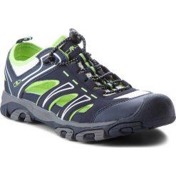 Sandały CMP - Aquarii Hiking Sandal 3Q95477 Black Blue N950. Niebieskie sandały męskie skórzane marki CMP. W wyprzedaży za 149,00 zł.