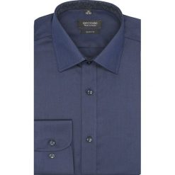 Koszula bexley 2172 długi rękaw slim fit granatowy. Szare koszule męskie slim marki Recman, na lato, l, w kratkę, button down, z krótkim rękawem. Za 149,00 zł.