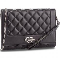 Torebka LOVE MOSCHINO - JC4205PP06KA000B Nero Gal.Nk. Czarne torebki klasyczne damskie marki Love Moschino, ze skóry ekologicznej. Za 719,00 zł.