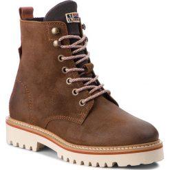 Trapery NAPAPIJRI - Hilda 17743017 Cognac N45. Brązowe buty zimowe damskie marki Napapijri, z materiału. W wyprzedaży za 519,00 zł.