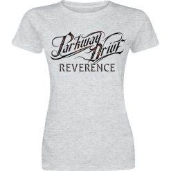 Parkway Drive Reverence Logo Koszulka damska szary. Szare t-shirty damskie Parkway Drive, m, z nadrukiem, z okrągłym kołnierzem. Za 74,90 zł.