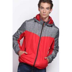 Czerwona Kurtka Entirety. Czarne kurtki męskie marki Born2be, l, z aplikacjami, z dresówki. Za 99,99 zł.